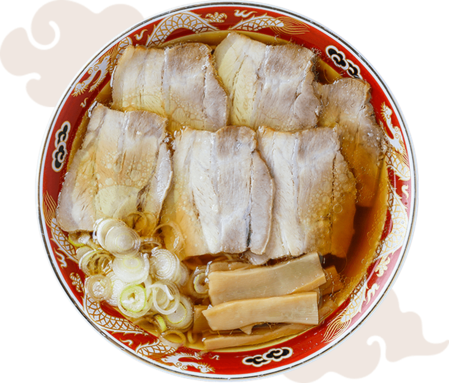 チャーシュー麺写真